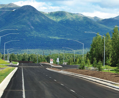East Anchorage road project where Donaldson Consulting LLC collected anecdotal evidence and coordinated public hearings for the State of Alaska Department of Transportation and Public Facilities Disparity Study.