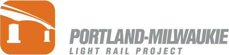 Logo for Portland-Milwaukie Light Rail Project.